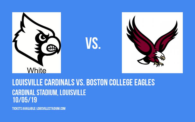 Louisville Cardinals vs. Boston College Eagles at Cardinal Stadium